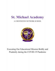 St. Michael Academy 2020 21 Re Opening Plan